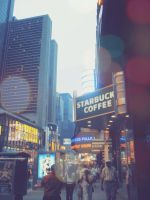 STARBUCKS IN NYC by boiled-sweet