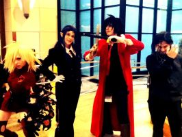 The Hellsing Group by neon-talon-claw