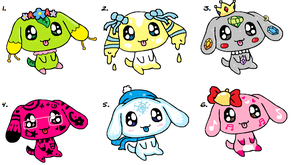 Puppy batch CLOSED by ForeverFluffyAdopts