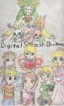 Digital smash brothers cover by 1sthi1357