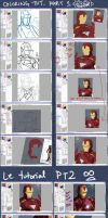 Tutorial: Le Fab Ironman - SAI color how to by chiihun