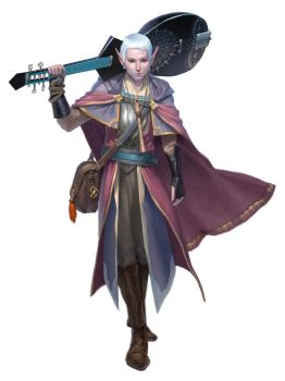 Bard - Dungeons and Dragons by ClintCearley