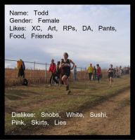 Cross Country ID by Todniko