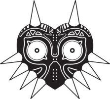 Majora's Mask Vector by Skuldier