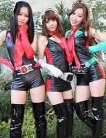 Kamen Rider GIRLS - Let's Go RiderKick 2011 by XMarcoXfansubs