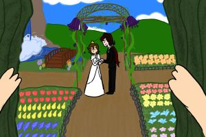Crack Couple 3 - Behind a Wall of Vines by Ask-Thorn-Morph