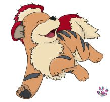 Growlithe by LiviaRedo