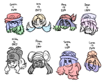 Pokegirl Headcanons by Bananeurysms