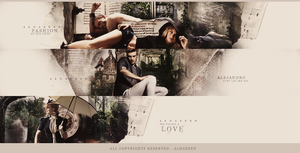 New Banner Fashion Of His Love by alhazeen