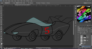 Unfinished Car Steed Racer by Rumilax