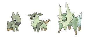 Grass Starter New by Pokypoke
