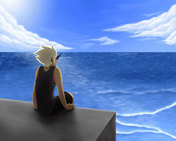 Lonely sea boys GIF by Kaciel