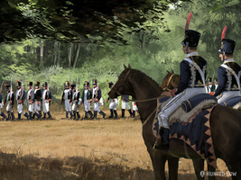 French Soldiers by HughEbdy