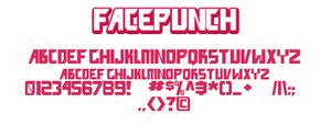 Font: facepunch by andehpinkard