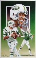 Quarterback Joe Namath by Paluso4art