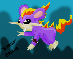 Brixus the Ponyta-Rattata by Shadow-Cipher