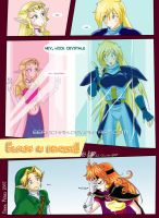 Blonds in distress by eERIechan