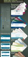 BusinessCards-Classic-PSD by djnick2k