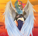 Rainbow Dash Humanized by Cryaoticisbest