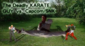 Karate Guy by darkgamerxl