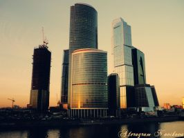 Moscow City by AteragramNovikova