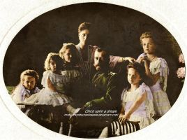 Imperial Family 1906 by GrandDuchessIsabelle