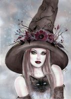 Autumn Berry Witch by Fairylover17