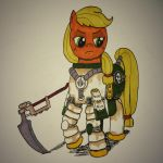 AppleJack of the Death Guard by Astral-Hammer
