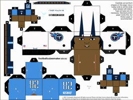 Chris Johnson Titans Cubee by etchings13