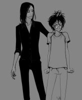 Snape/Harry by LiaBatman