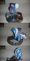MLP FiM blindbag diorama: Trixie's Remorse by vulpinedesigns