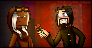 Minecraft Story Mode: Ivor X Harper by PrettyXTheXArtist