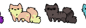 Cat Adoptables - Open by SquishyAdopties