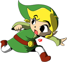 Toon Link by RedFoxxTM