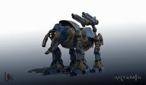 Quad walker - clear render by UEGProductions