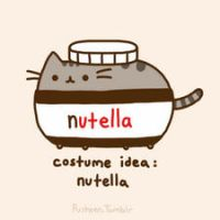 Pusheen the nutela cat by Splashkatartist