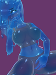 Blueberry Slime by Vetisx
