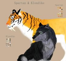 Spartan and Klondike finished by loonerwolf