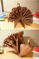 Origami Turkey by small-happy-crane