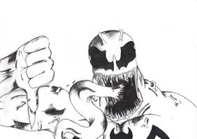 venom disapprove ! by domarcus7