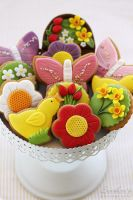 Spring cookies by kupenska