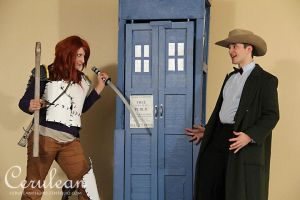 Doctor Who Photoshoot: The Girl Who Waited by StrangeStuffStudios