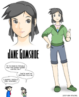 Jane Gumshoe by GreenMage