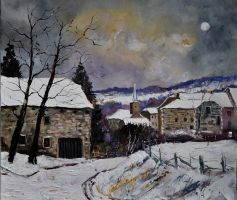 snow in gendron by pledent