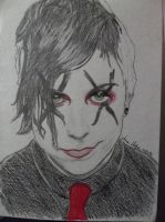 Frank Iero (Revenge Era) of MCR by awkwarddino