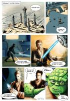 Star Wars Comic - be perfect colored by antonvandort
