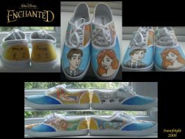 Disney's 'Enchanted' Shoes by SnowFright