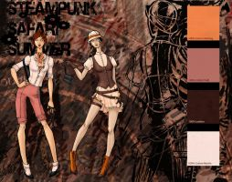 Steampunk Summer Safari_colors by Lovely-Whimsy