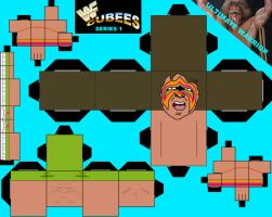WWF CUBEES ULTIMATE WARRIOR by Saikyo-Master