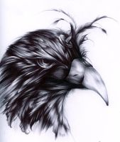 Ballpoint Bird by Giname